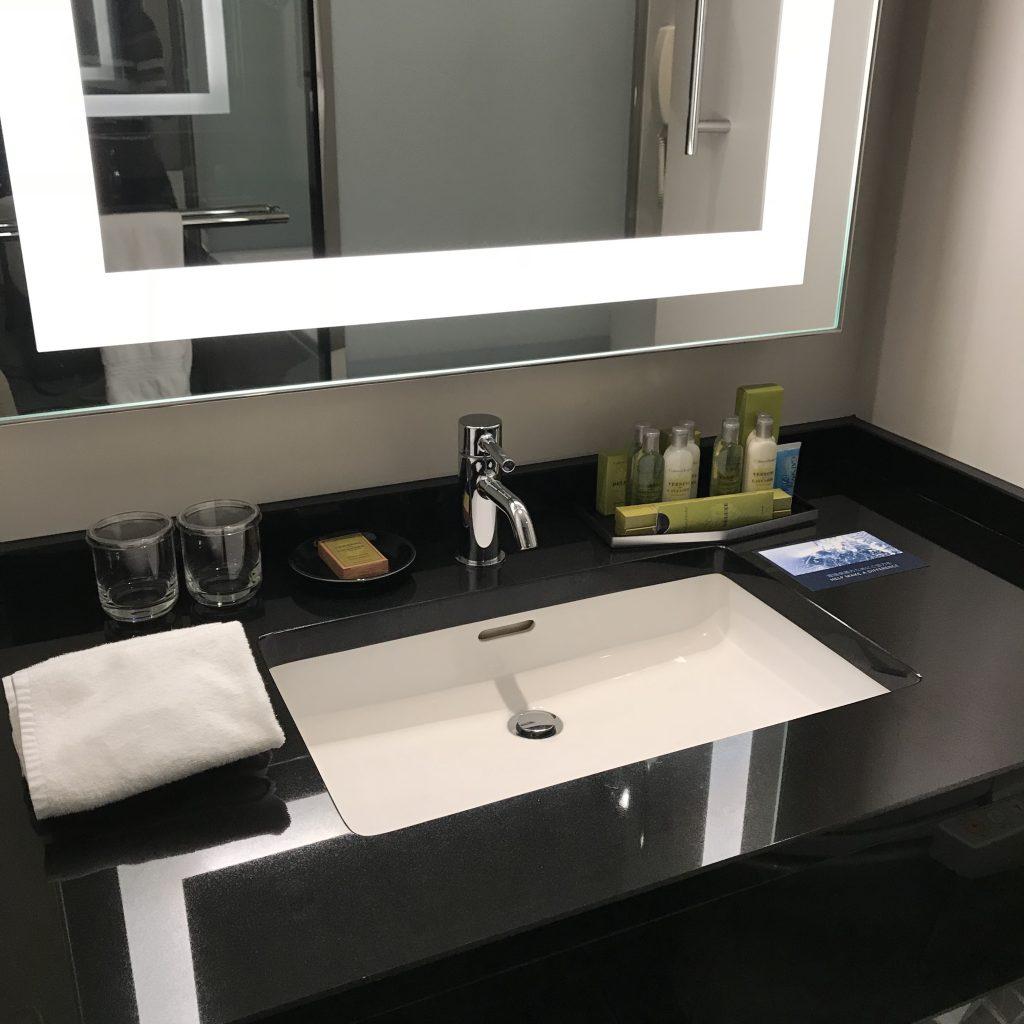 Hilton Tokyo-浴室洗手盆