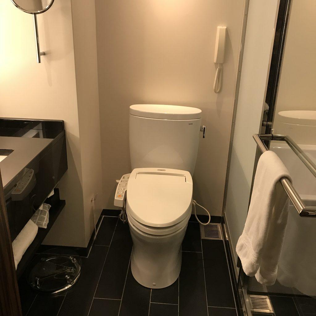 Hilton Tokyo-浴室馬桶