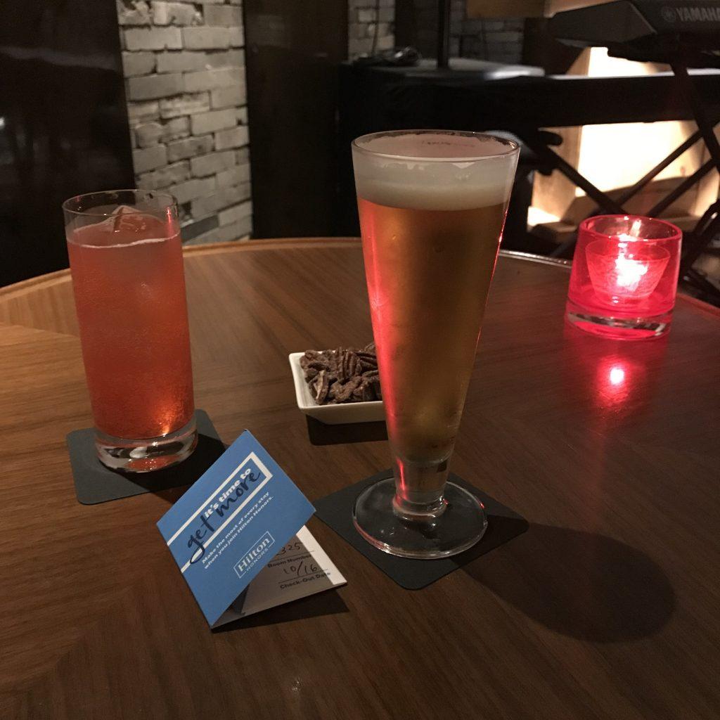 Hilton Tokyo設施-Zatta酒吧酒精飲品