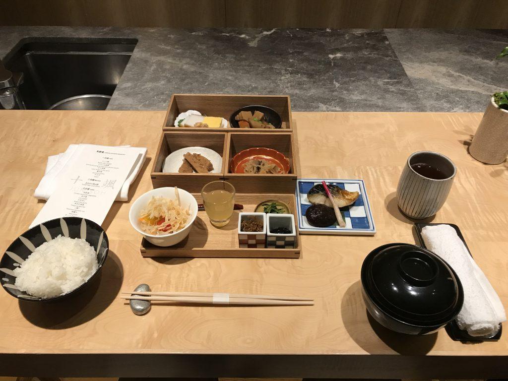 東京希爾頓酒店Junisoh-日式早餐