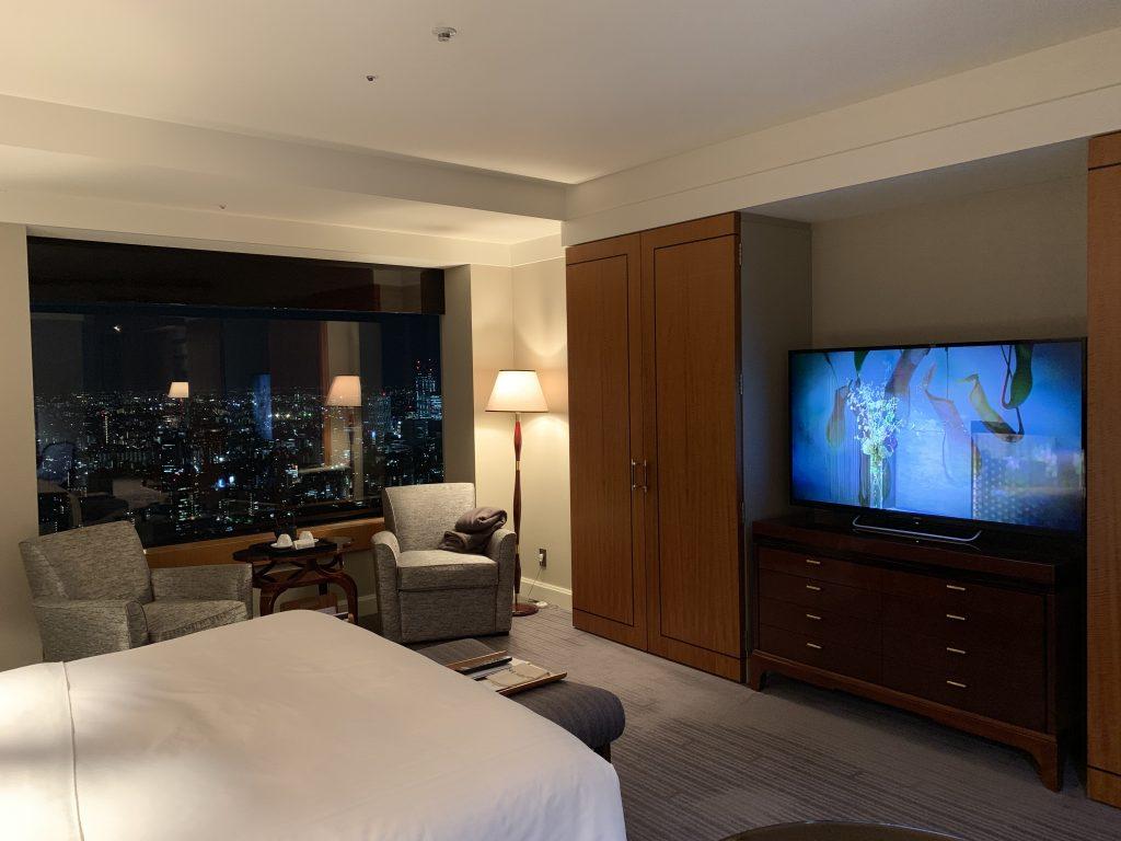 東京麗思卡爾頓酒店-房間尚算寬敞