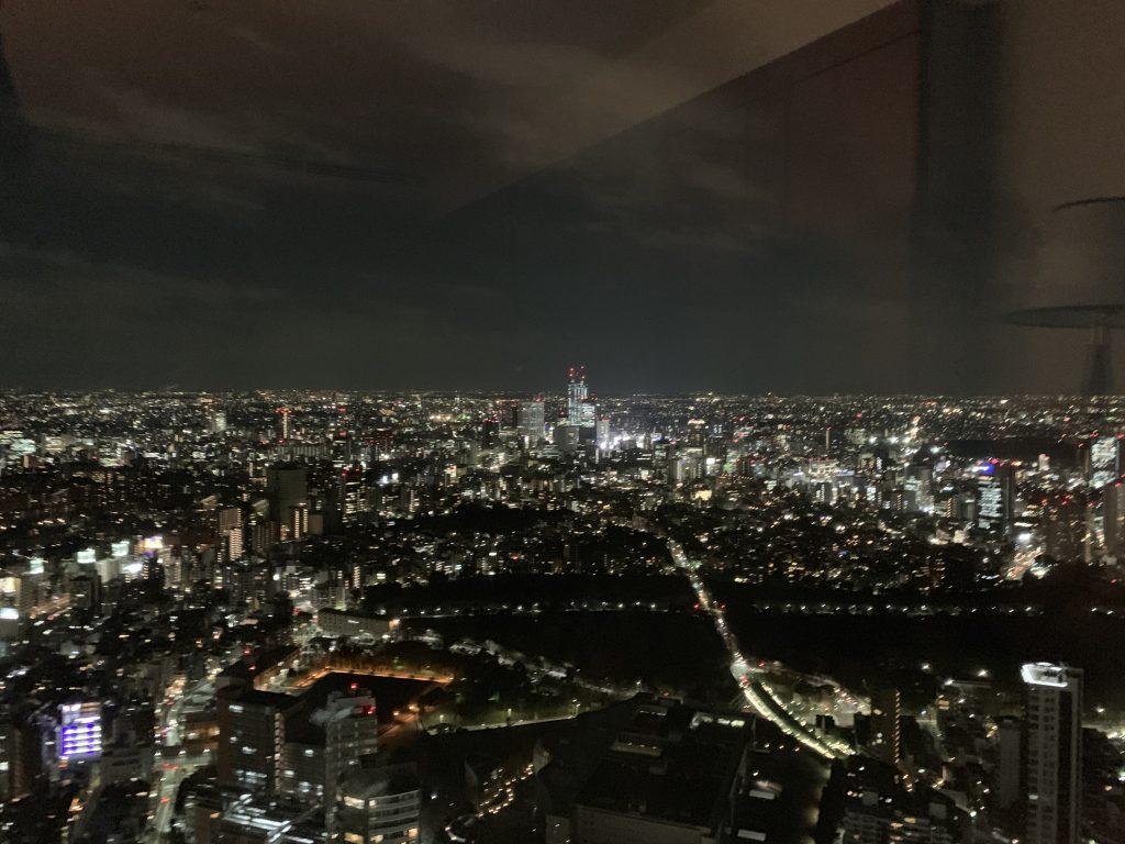 The Ritz-Carlton Tokyo-房間窗外的東京夜景迷人