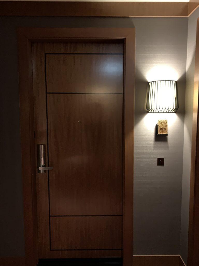 東京麗思卡爾頓酒店-此行入住5005套房房間