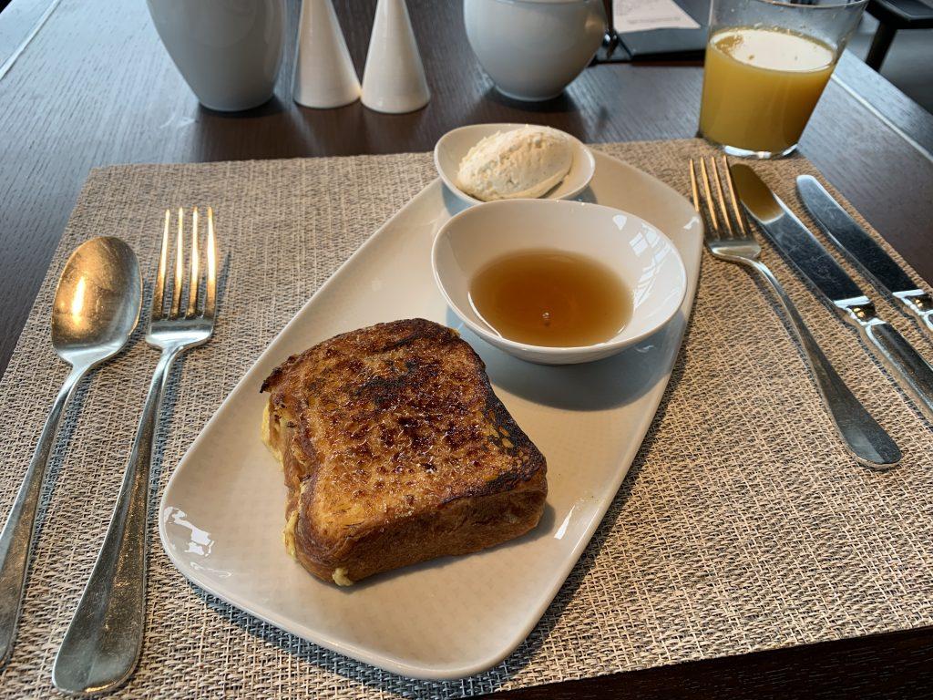 The Ritz-Carlton Tokyo Towers-早餐有吃烤多士