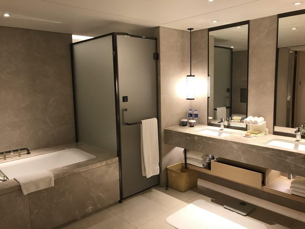 Hilton Shenzhen Shekou Nanhai-浴室夠闊落