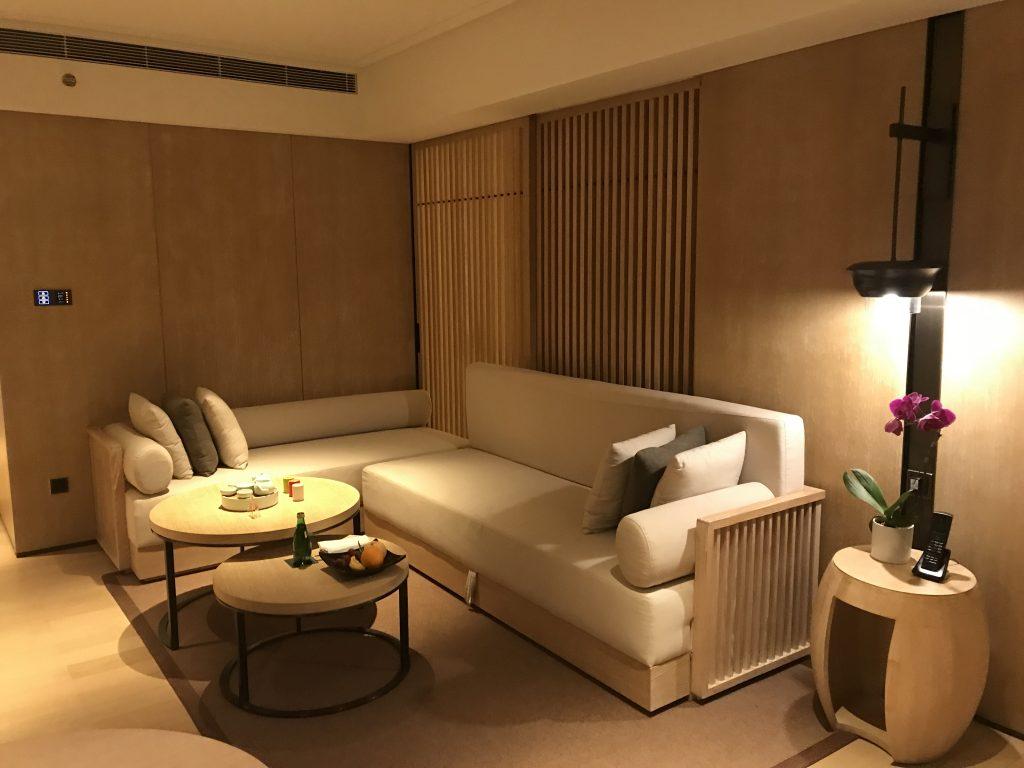 深圳蛇口希爾頓南海酒店-King One Bedroom Seaside Suite Nanhai Wing