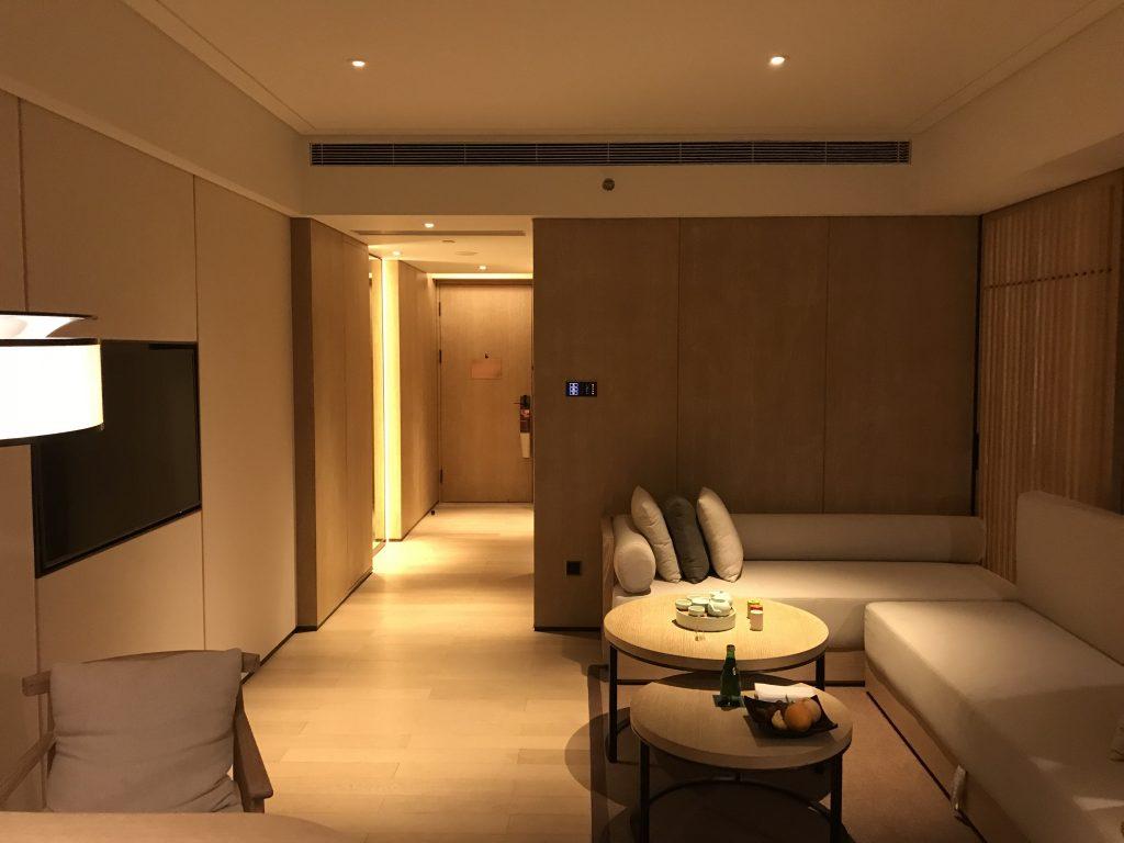 深圳蛇口希爾頓南海酒店-客廳全景