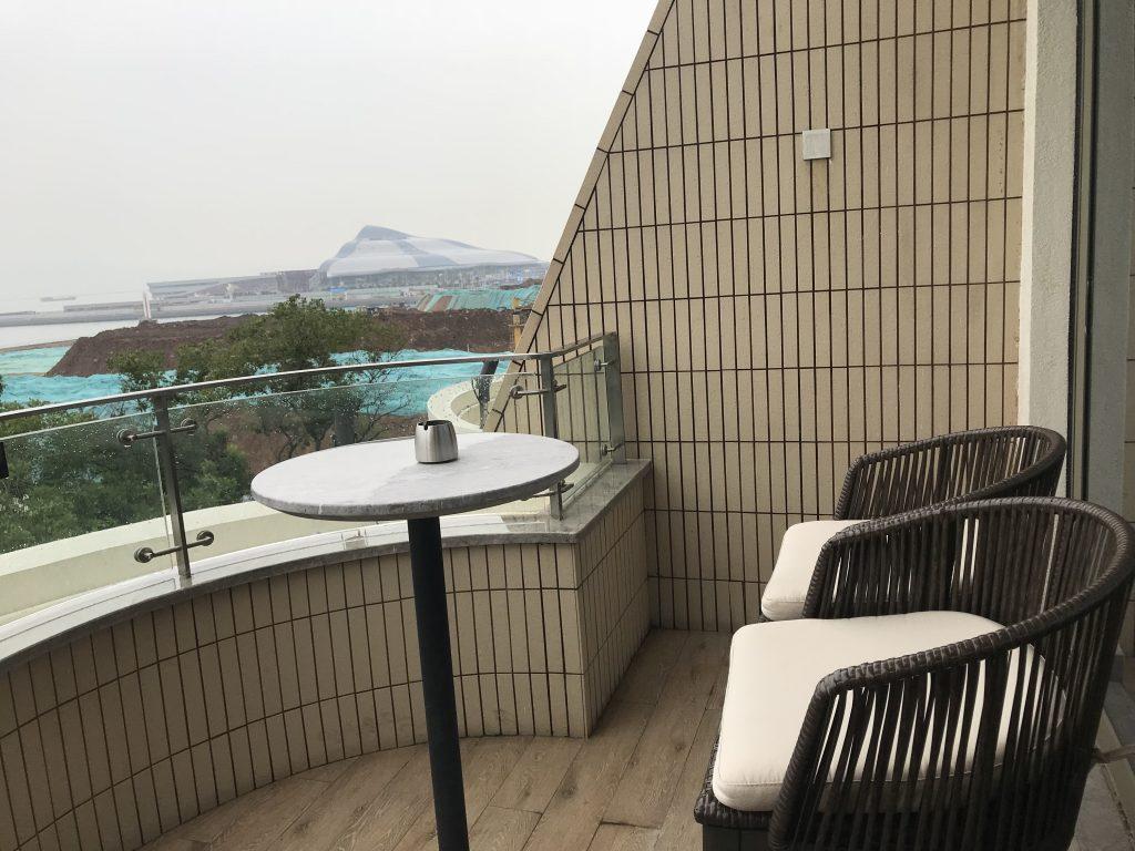 深圳蛇口希爾頓南海酒店-房間露台日間景色