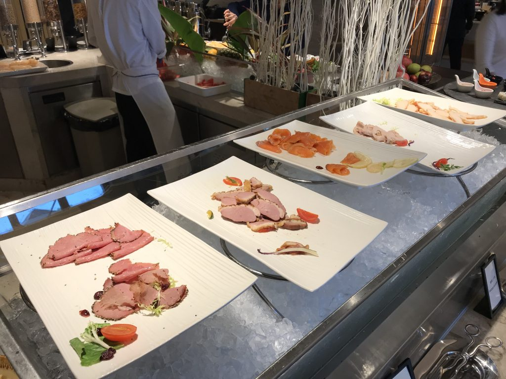 深圳蛇口希爾頓南海酒店Kitchencraft廚藝餐廳-西式冷盤