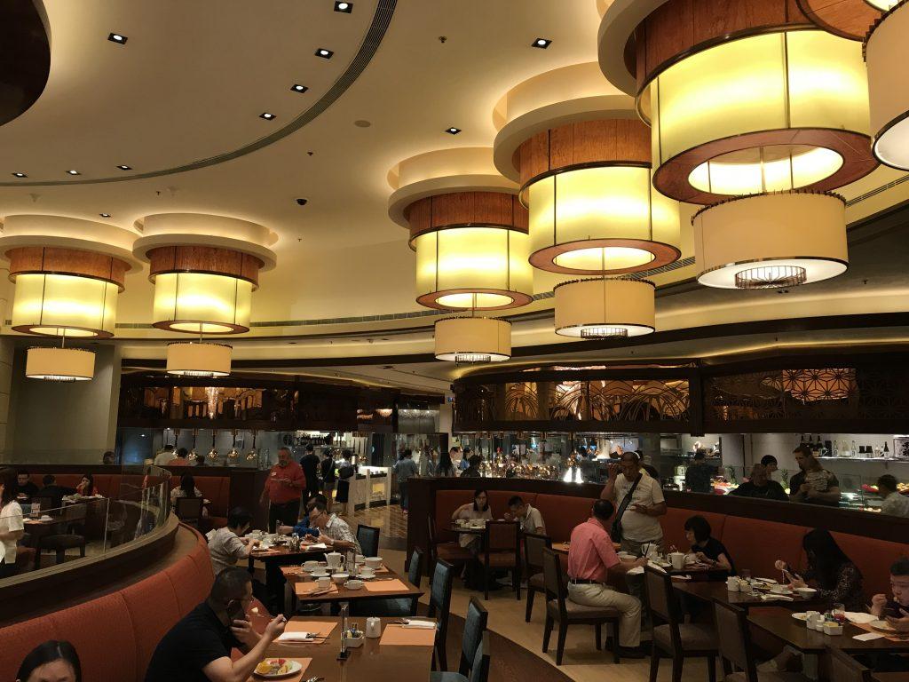 澳門金沙城中心康萊德酒店奧旋自助餐Grand Orbit-餐廳環境