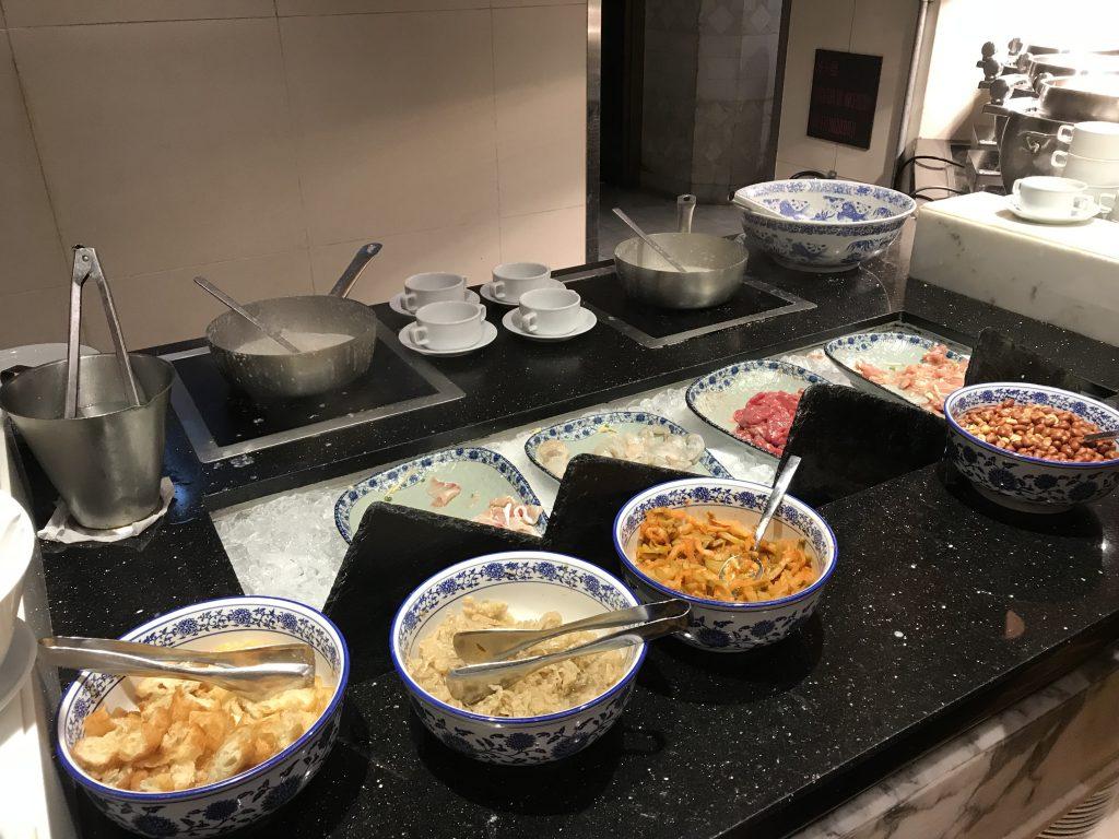 澳門金沙城中心康萊德酒店奧旋自助餐Grand Orbit-即叫即煮中式粥品及配菜