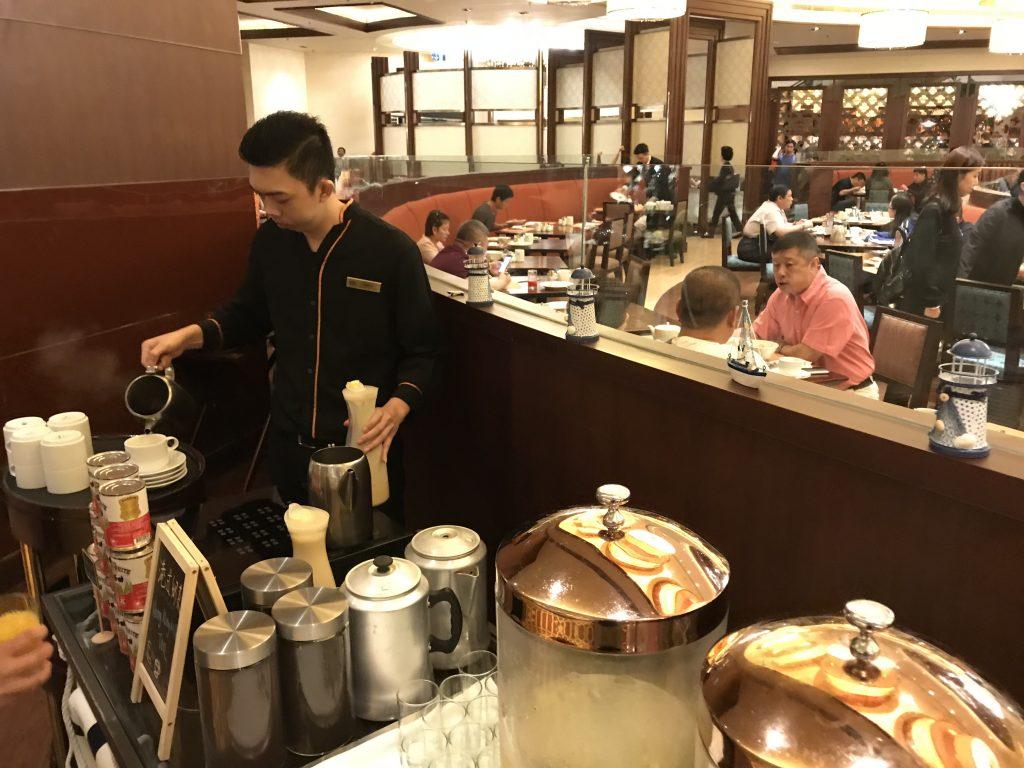 Conrad Macao Cotai Central奧旋自助餐Grand Orbit自助早餐-有職員即場製作港式奶茶