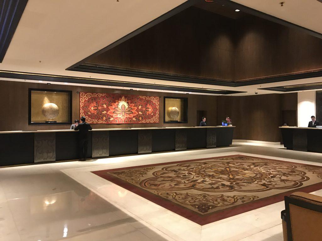 澳門金沙城中心康萊德酒店設施-酒店接待處
