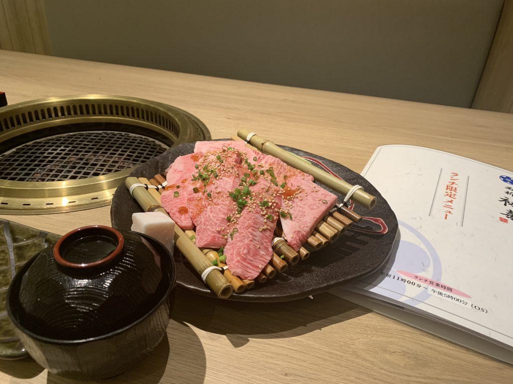 福岡海鷹希爾頓酒店周邊-肉類賣相