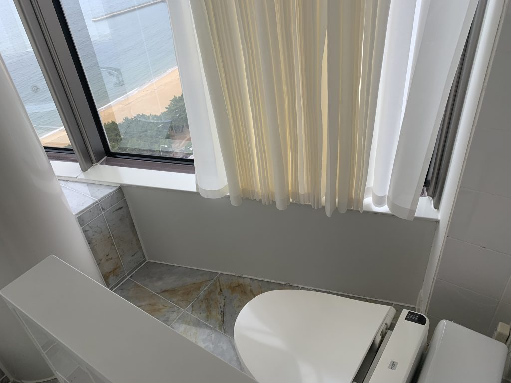 Hilton Fukuoka Sea Hawk-浴室坐廁間