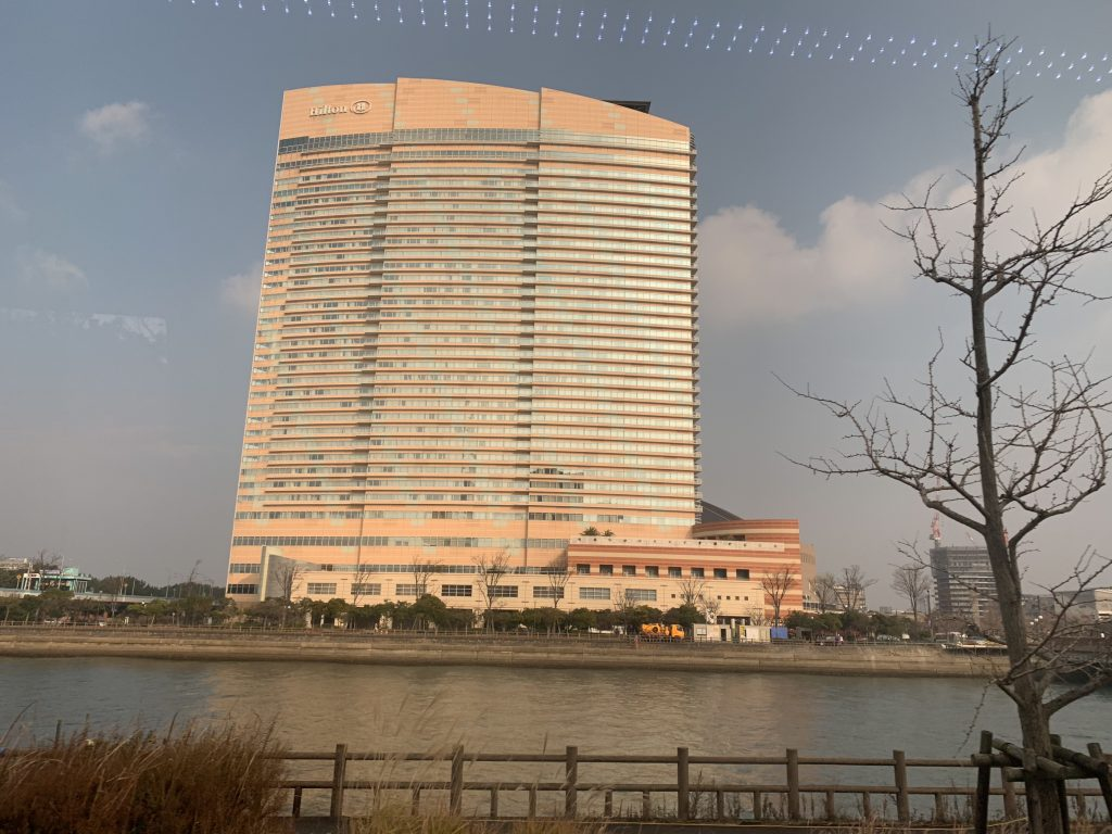福岡海鷹希爾頓酒店設施-酒店外觀