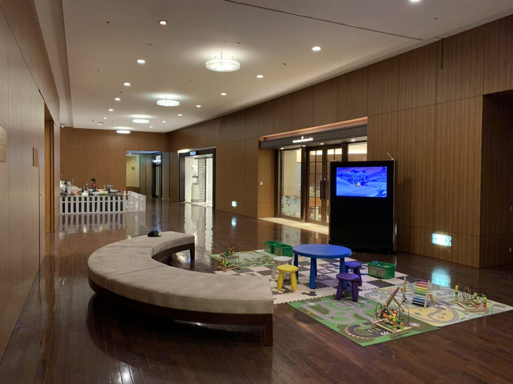 Hilton Fukuoka Sea Hawk設施-酒店設有兒童遊戲區