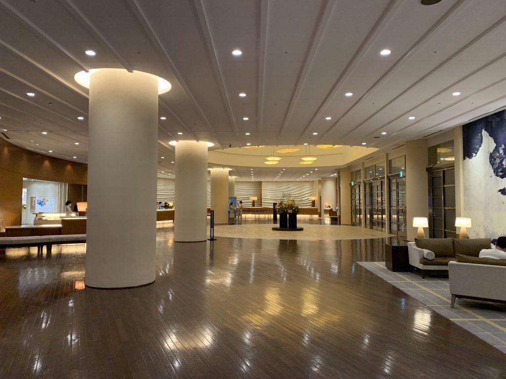 福岡海鷹希爾頓酒店設施-酒店大堂