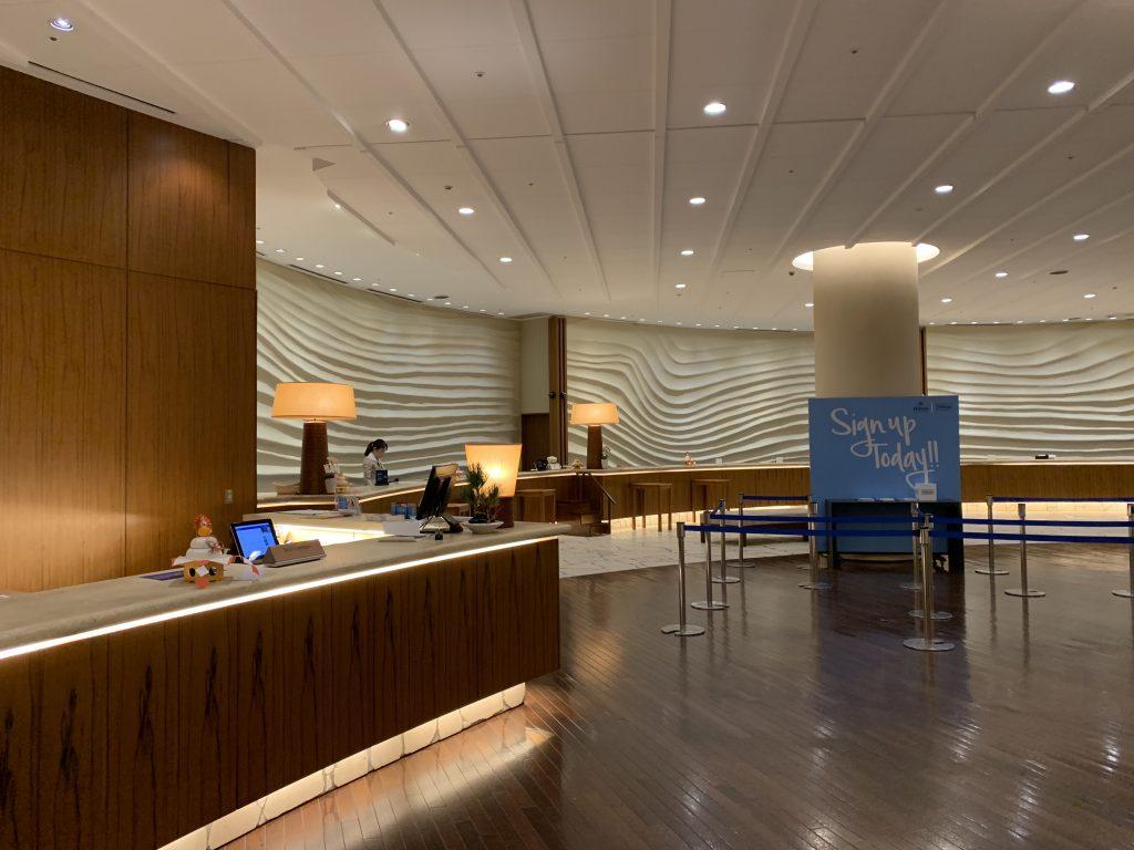 福岡海鷹希爾頓酒店設施-酒店接待處