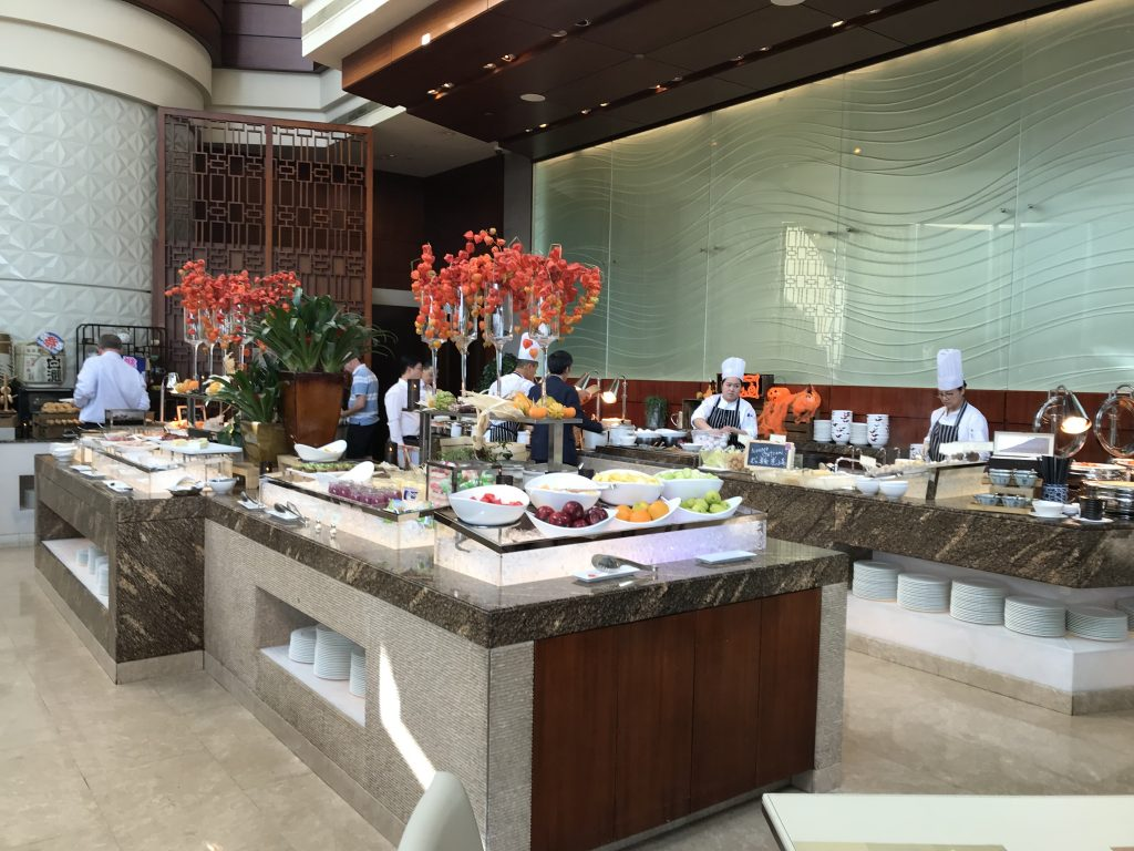 香港港麗酒店咖啡園Garden-Café-餐廳環境