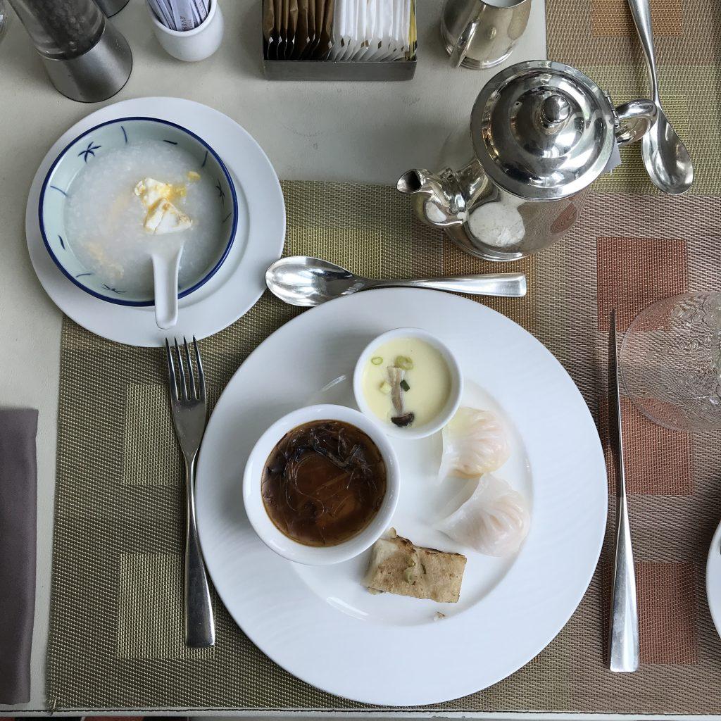 Conrad Hong Kong咖啡園Garden Café-是日早餐1