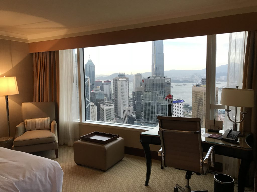 香港港麗酒店-King Executive Harbour View Room