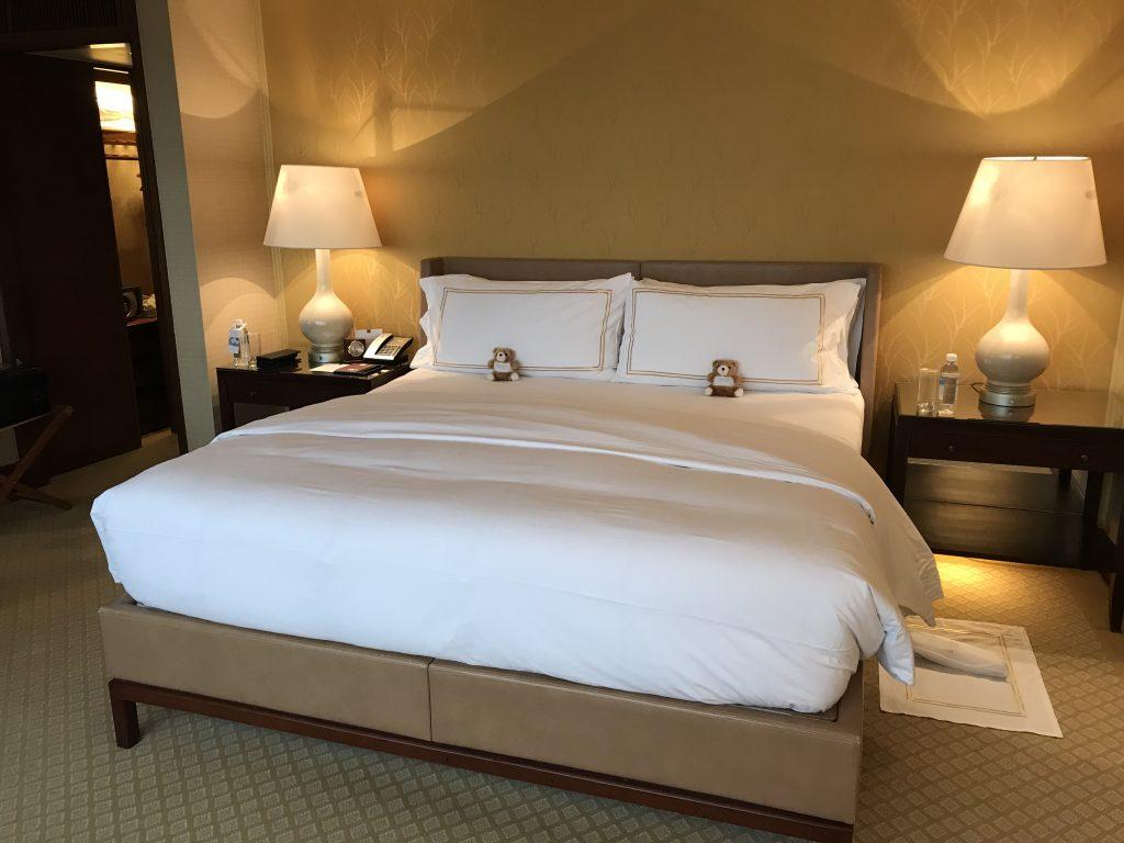 香港港麗酒店-King Size睡床