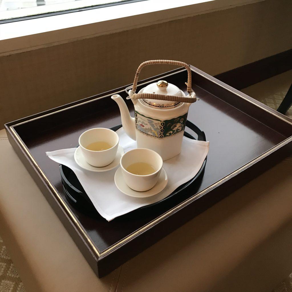 香港港麗酒店-入住會serve茶