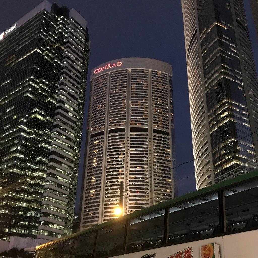 香港港麗酒店Conrad Hong Kong設施-酒店外觀