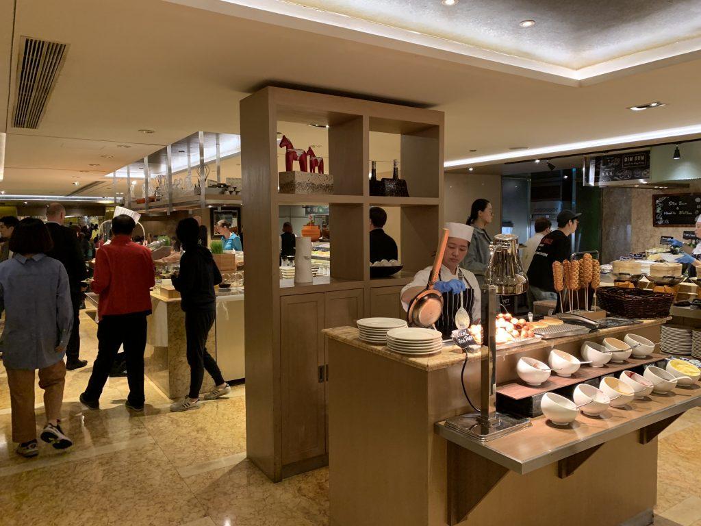 香港萬麗海景酒店萬麗咖啡室Café Renaissance-餐廳環境