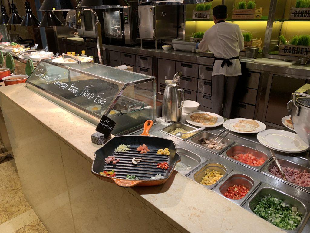 香港萬麗海景酒店萬麗咖啡室Café Renaissance-Egg Station,可即叫即煮各種蛋類料理