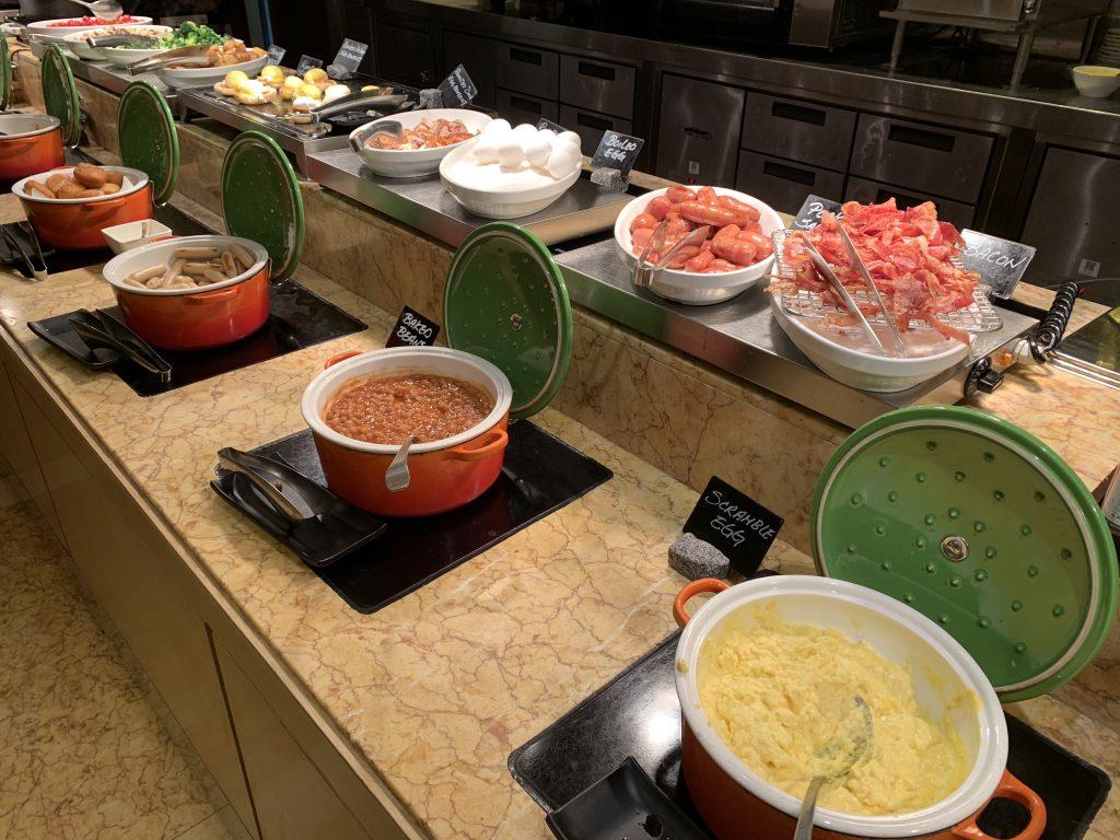 香港萬麗海景酒店萬麗咖啡室Café Renaissance-西式早餐區