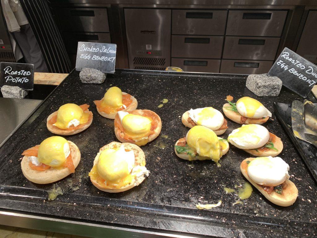 香港萬麗海景酒店萬麗咖啡室Café Renaissance-早餐有班尼迪蛋