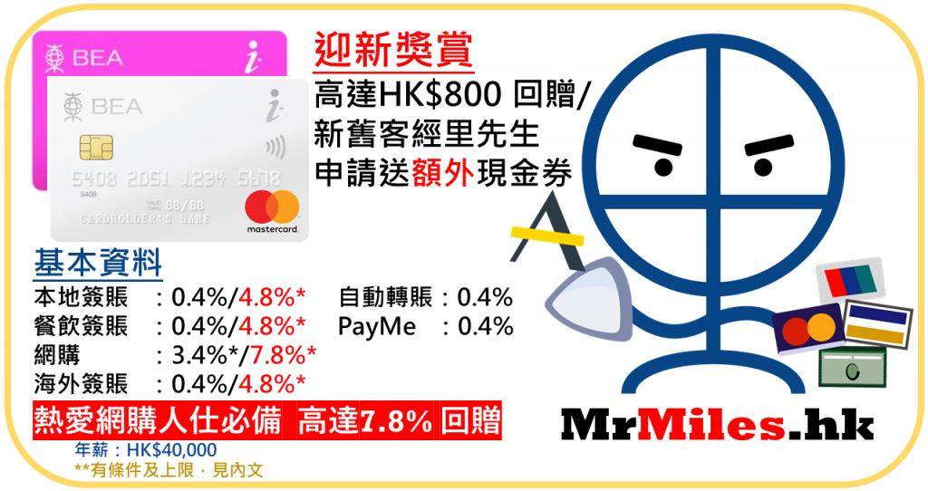 東亞 i-titanium 信用卡