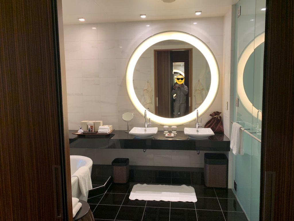 東京康萊德酒店-房間浴室