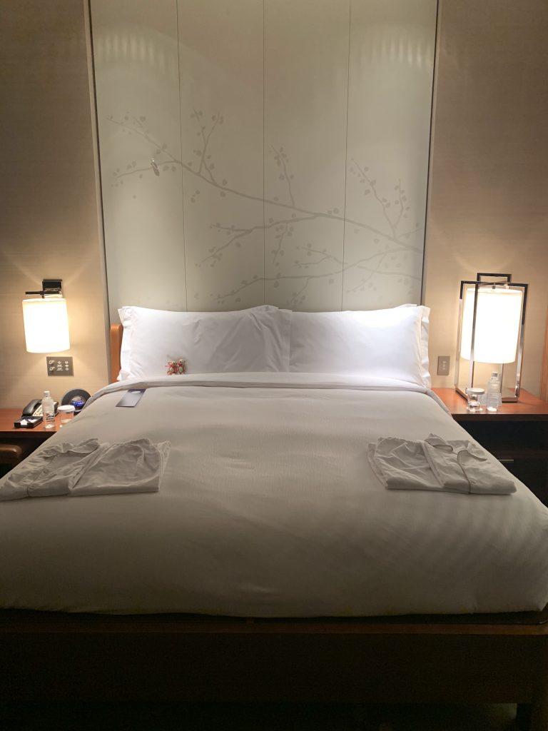 東京康萊德酒店-房間King Size床褥