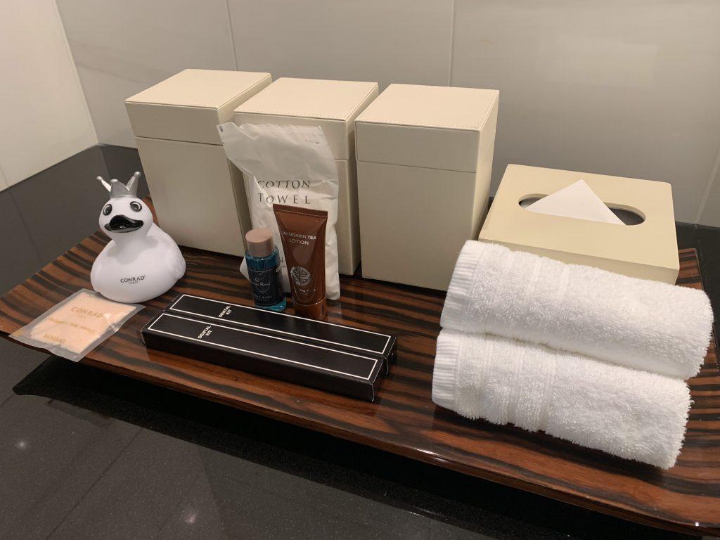 東京康萊德酒店-浴室用品