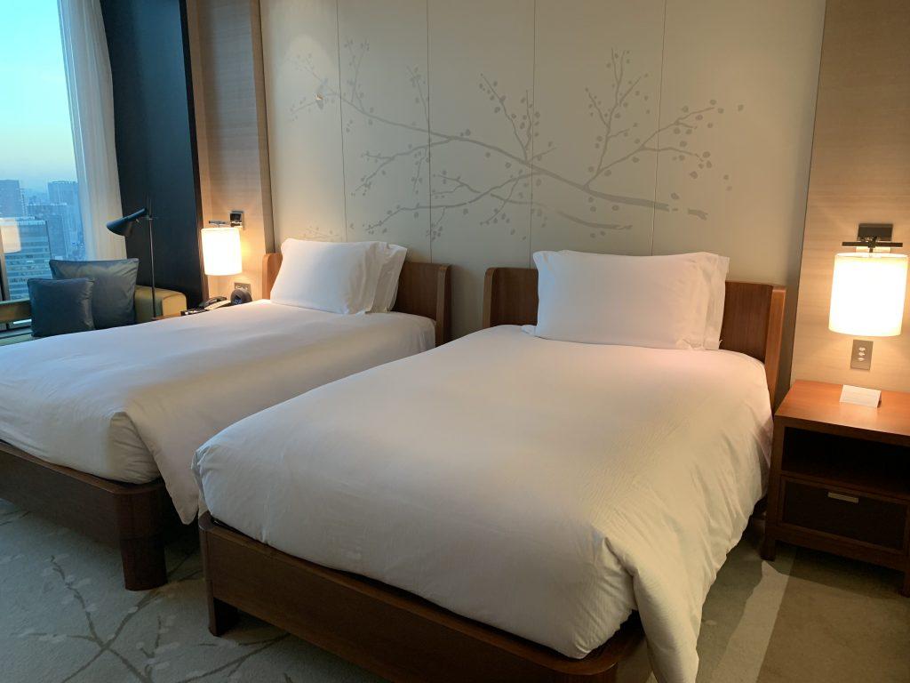 東京康萊德酒店-房間Twin Beds兩張單人床