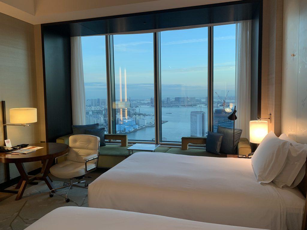 東京康萊德酒店-Twin Executive Room Bay View