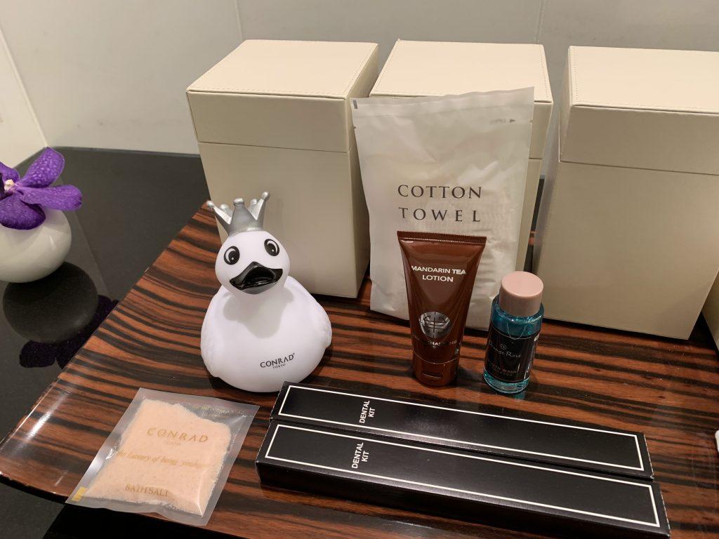 Conrad Tokyo-浴室用品
