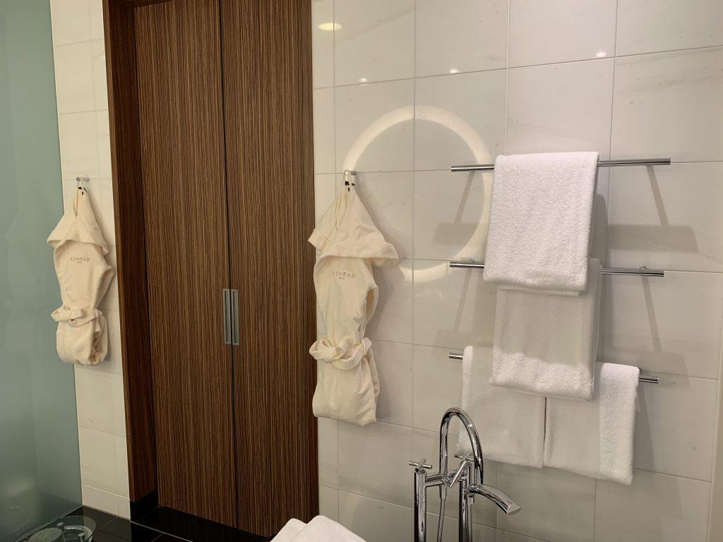 Conrad Tokyo-浴室毛巾