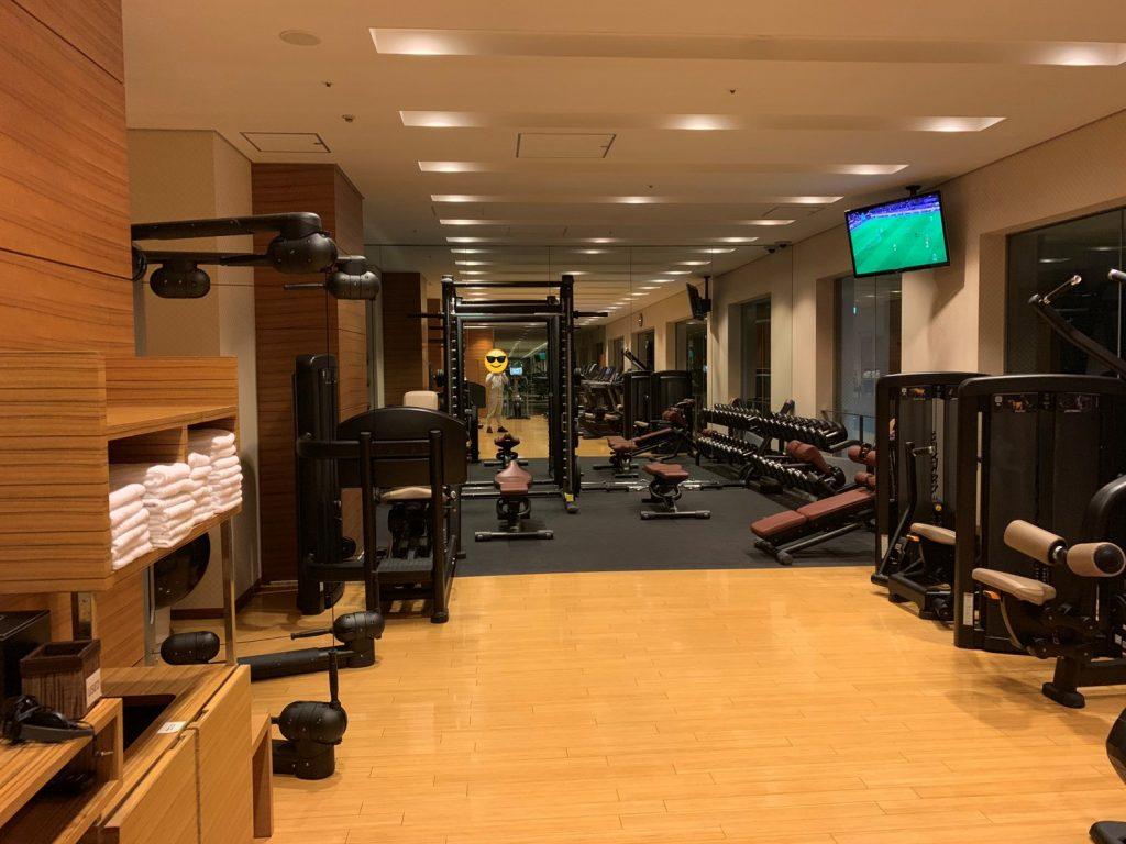 Conrad Tokyo設施-酒店健身中心環境
