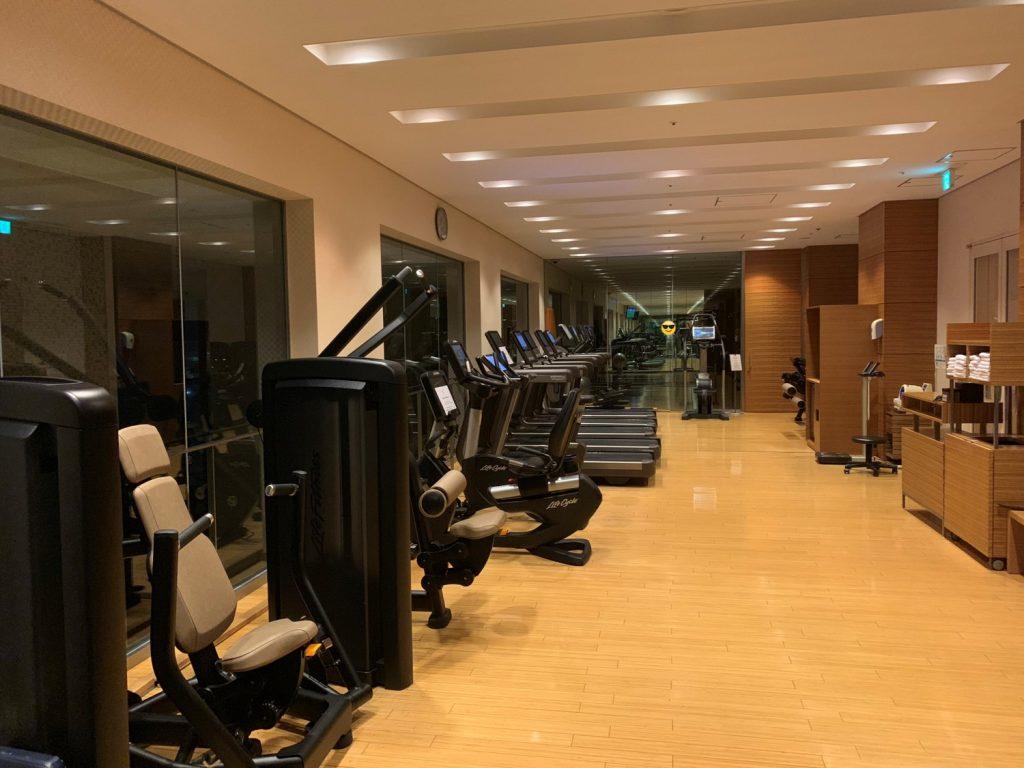 Conrad Tokyo設施-酒店健身中心