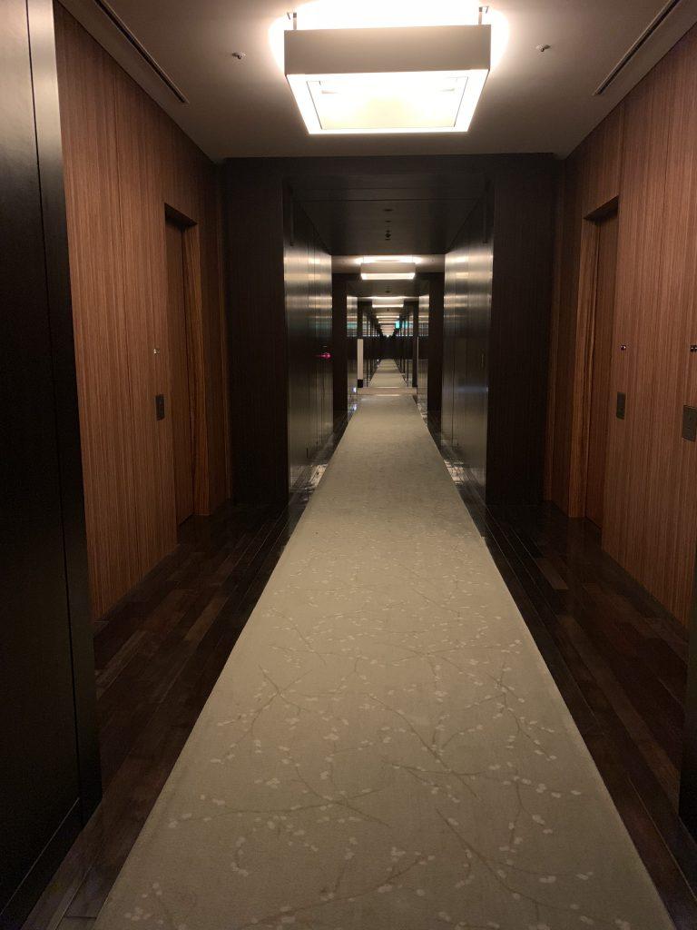 東京康萊德酒店設施-酒店客房樓層走廊