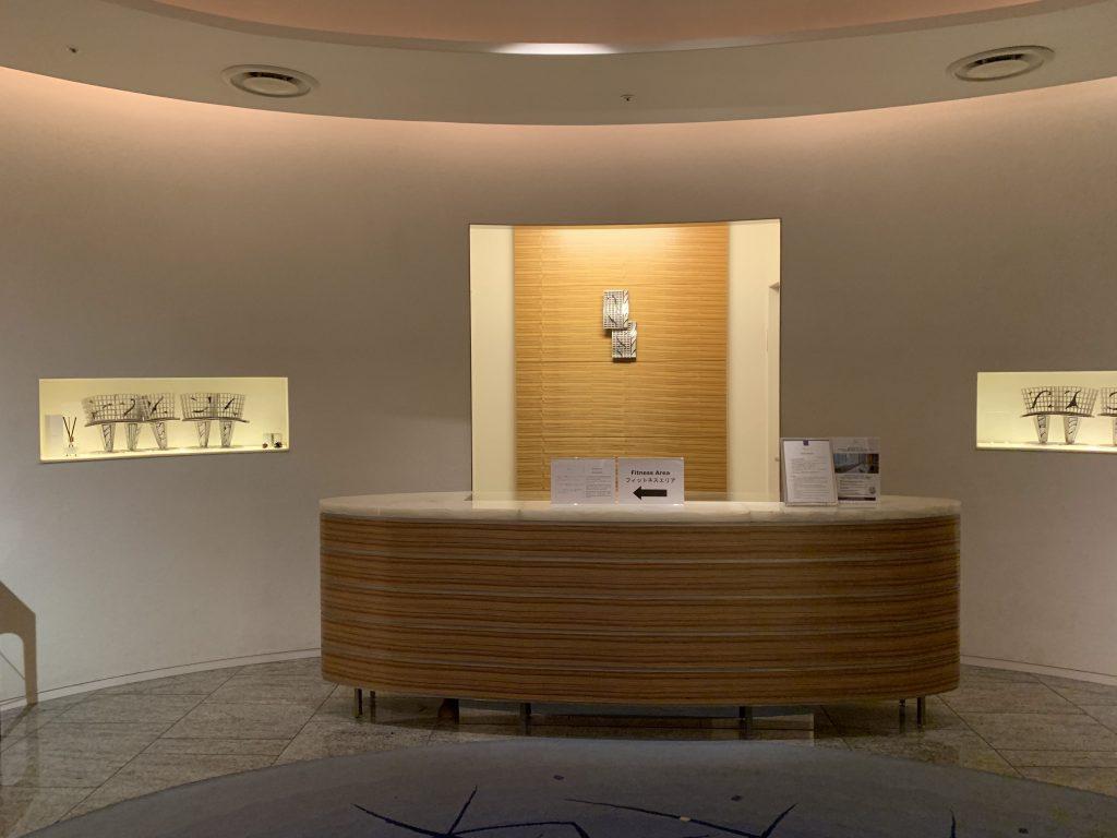 Conrad Tokyo設施-酒店水療及健身中心櫃檯