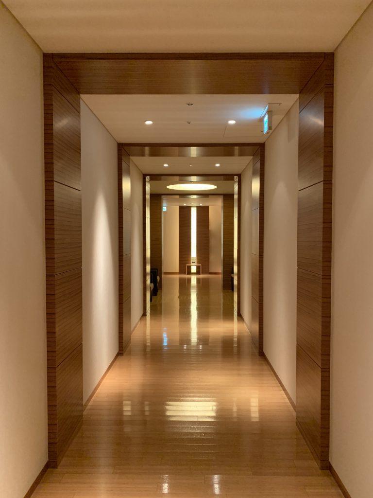 東京康萊德酒店設施-酒店樓層走廊
