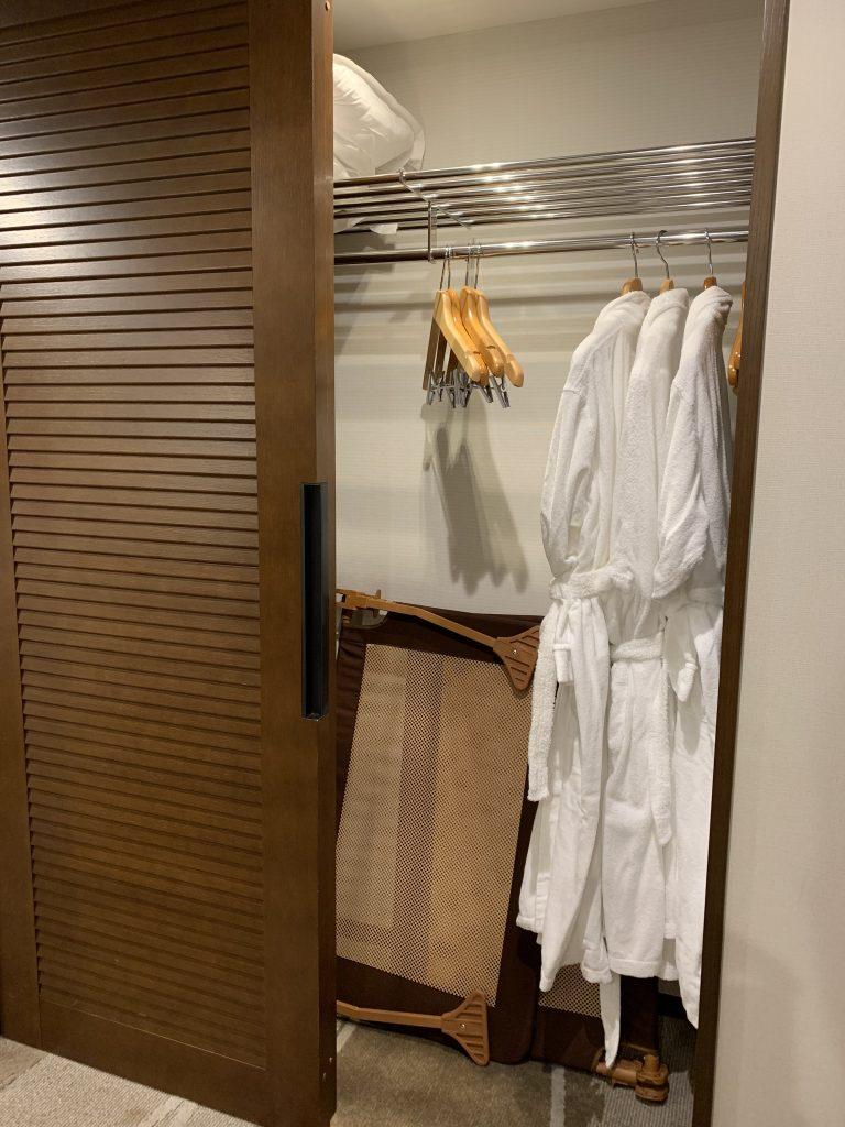 Sheraton Grande Tokyo Bay Hotel-房間衣帽間