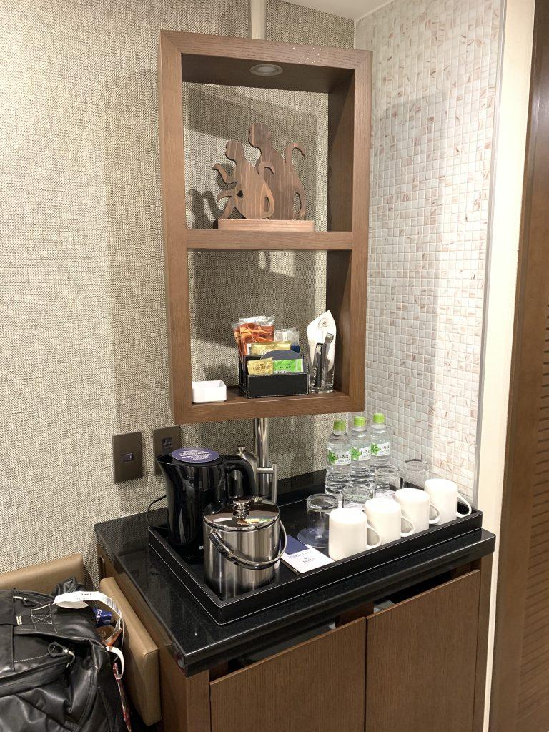Sheraton Grande Tokyo Bay Hotel-房間餐飲吧