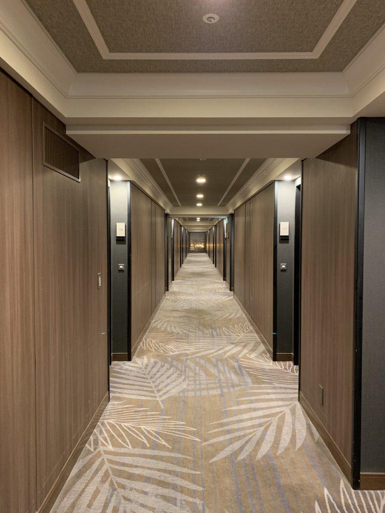 東京灣喜來登大酒店-洒店Park Wing客房樓層走廊