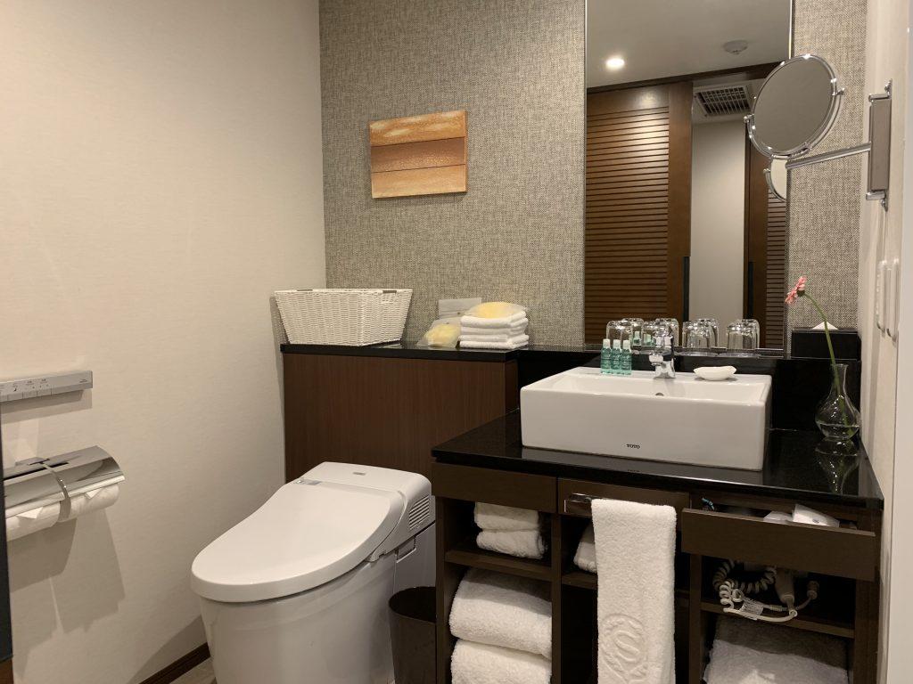 Sheraton Grande Tokyo Bay Hotel-房間浴室